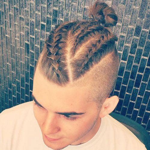 25 beautiful mens braids ideas on pinterest man braids black braids for men 15 braided hairstyles for guys ccuart Gallery