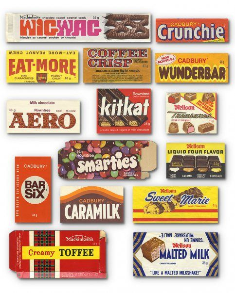 nice vintage candy selection and Canadian! Drool