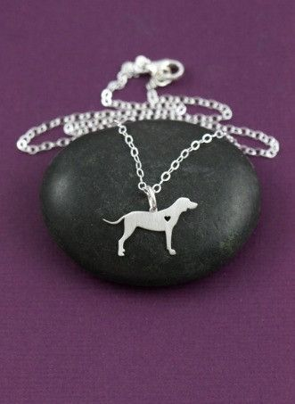 Coonhound Necklace - If you love your dog, this necklace is perfect way to show it.