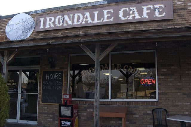 Who's been here? Irondale Cafe (Whistle Stop Cafe) Fried Green Tomatoes http://www.irondalecafe.com/