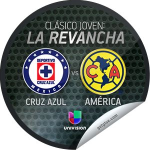Steffie Doll's Clasico Joven: Cruz Azul vs. America Sticker | GetGlue
