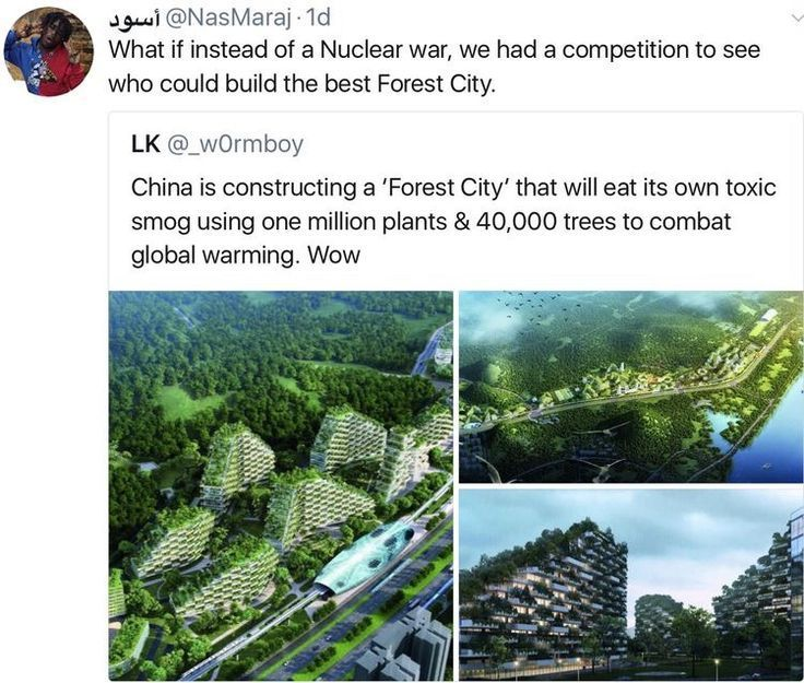 Was Ist Un Nachhaltige Entwicklung Im Kapitalismus Kanishka Sikri Entwicklung Ist Kanishk In 2020 Faith In Humanity Faith In Humanity Restored Forest City