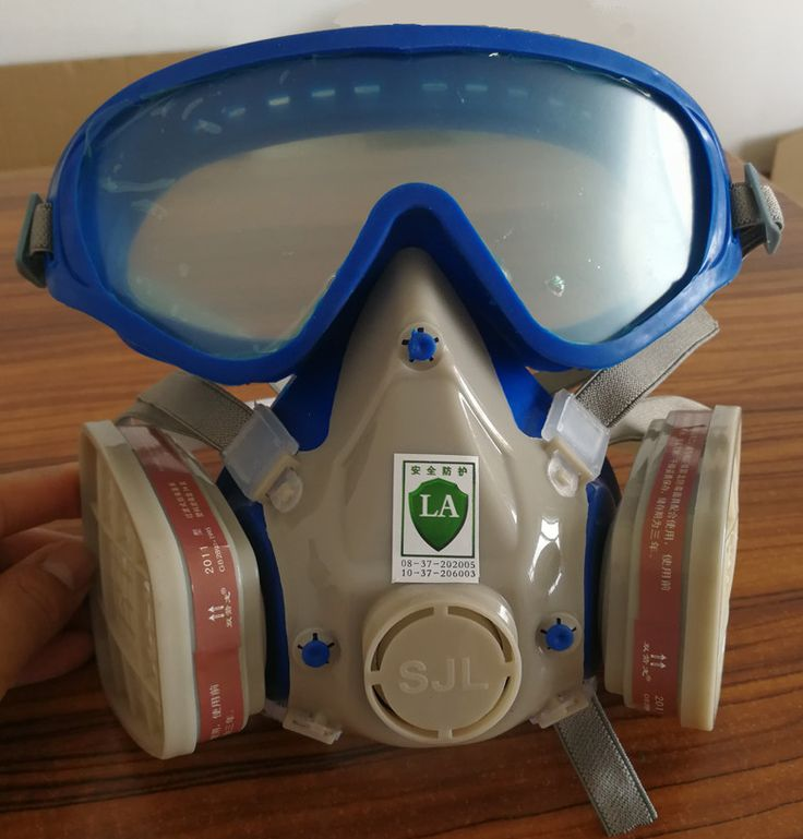 SJL Silikon atemschutzmaske gasmaske pestizid pintura voller gesicht kohlefilter maske lackierpistole gas box schützen maske kostenloser versand