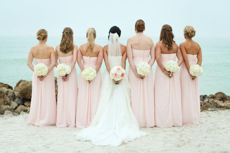 Petal pink bridesmaid dresses - Our Wedding! - Pinterest - Popular ...