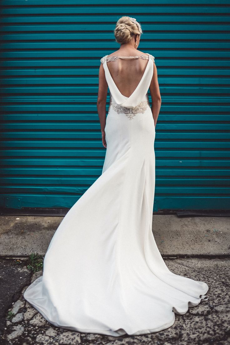 17 best ideas about cowl back dress on pinterest silk for Cowl back wedding dress