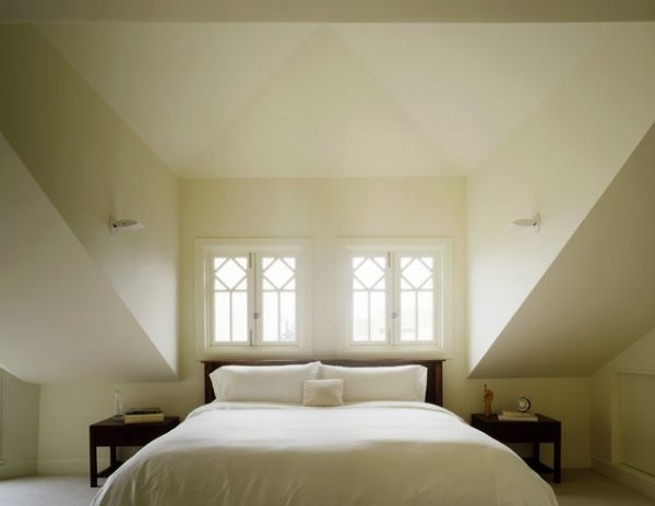 dormer bedroom - similar to your bedroom, just has 4' walls instead of 2'.  About the same size dormer so your bed will fit in there...king size.
