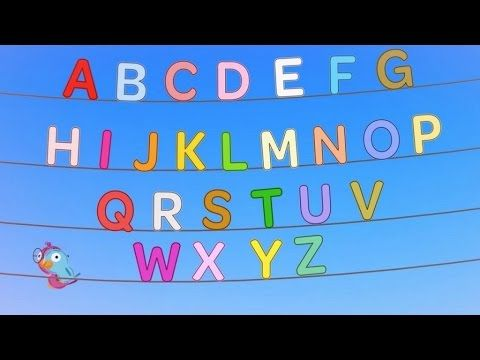 Learning the alphabet abc song little bird for children kids