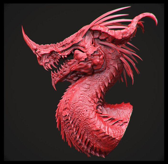 Dragon Design, kevin demuynck on ArtStation at http://www.artstation.com/artwork/dragon-design