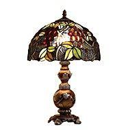 60W+Tiffany+Skrivebordslamper+,+Trekk+for+Øyenbeskyttelse+,+med+Maleri+Bruk+På/Av+Bytte+om+–+NOK+kr.+19.684