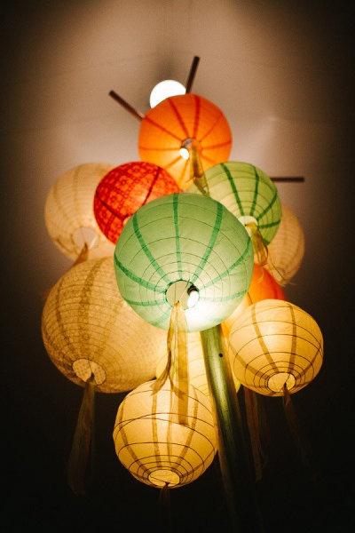 1000 ideas about paper lantern chandelier on pinterest chinese lanterns asian lighting and - Paper lantern chandelier ...