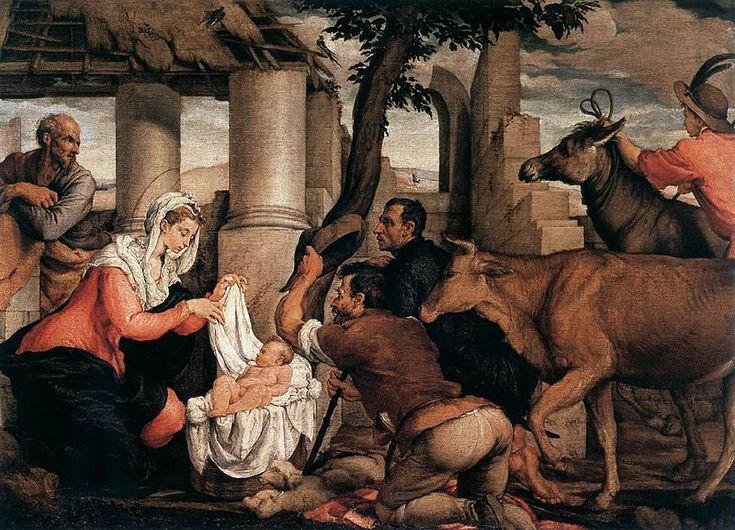 File:Jacopo bassano adoration of the shepherds.jpg  No dogs