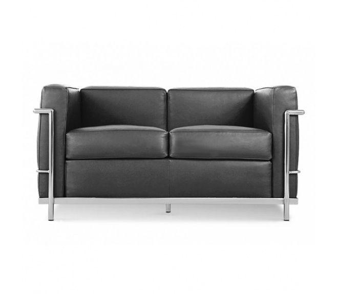 Le Corbusier Lc2 3 Sitzer 817 00 Möbel Sofa Sessel Sofa