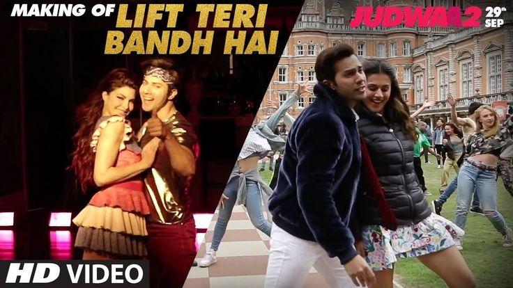 awesome Making:Lift Teri Bandh Hai | Judwaa 2 | Varun | Jacqueline | Taapsee | Anu Malik