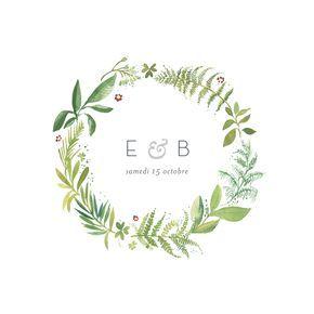 Le faire-part de mariage Murmure de forêt est une ode à la nature, idéal pour un mariage aux allures champêtres. Si vous avez le souhait ...