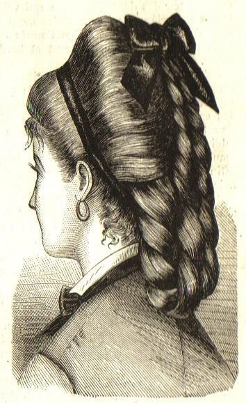 1876 - idea for hairpiece