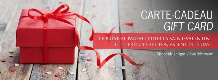 Une carte-cadeau à l'Hôtel Montfort pour la #stvalentin, quelle bonne idée!