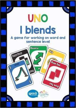 UNO - Articulation Game for L Blends. Love Uno like me. A great game to get high productions in a fun and motivating game. Also available in the blend bundle