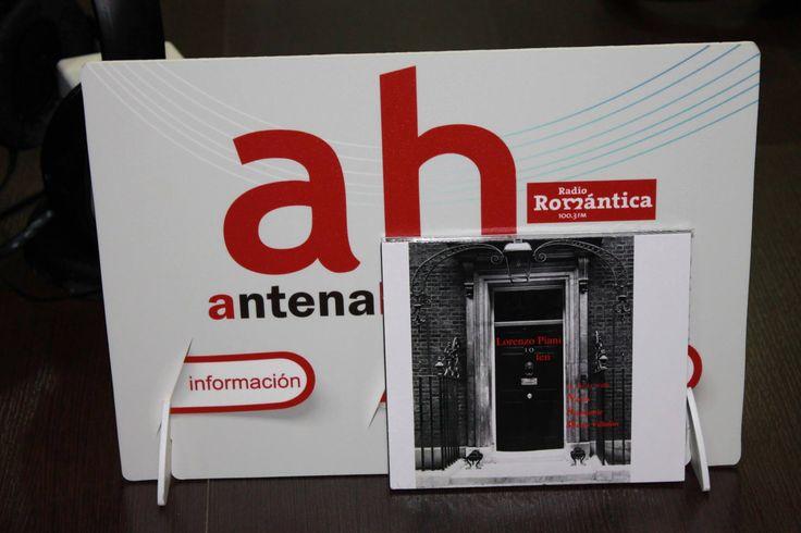 Consegna a Antena Huelva del nuovo album di Lorenzo Piani dal titolo 10ten prodotto da Sndmusic Edizioni.