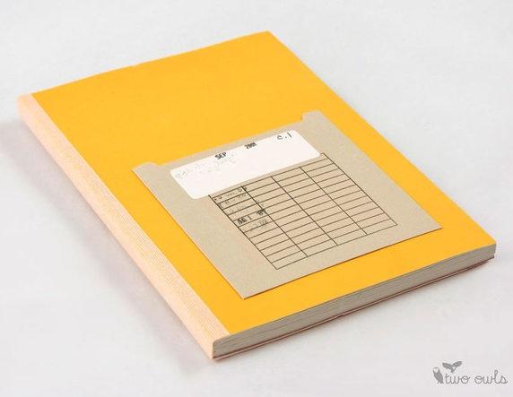 Travel Diary - Library Pocket