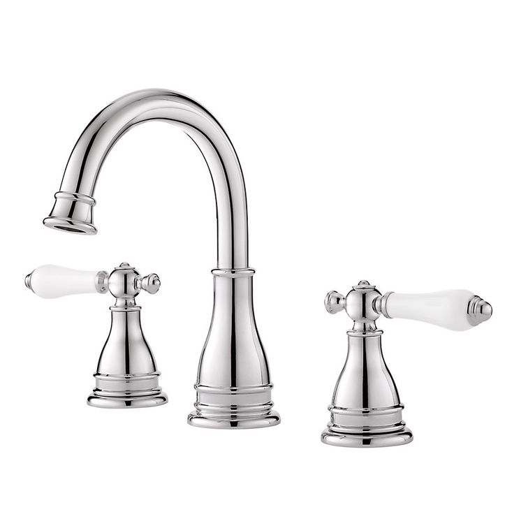 Shop Pfister Sonterra Polished Chrome 2-Handle Widespread Watersense Labeled Bathroom Sink Faucet (Drain Included) at Lowes.com