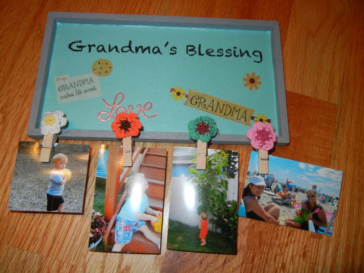 17 best images about grandparents day on pinterest send for Homemade gifts from toddlers to grandparents