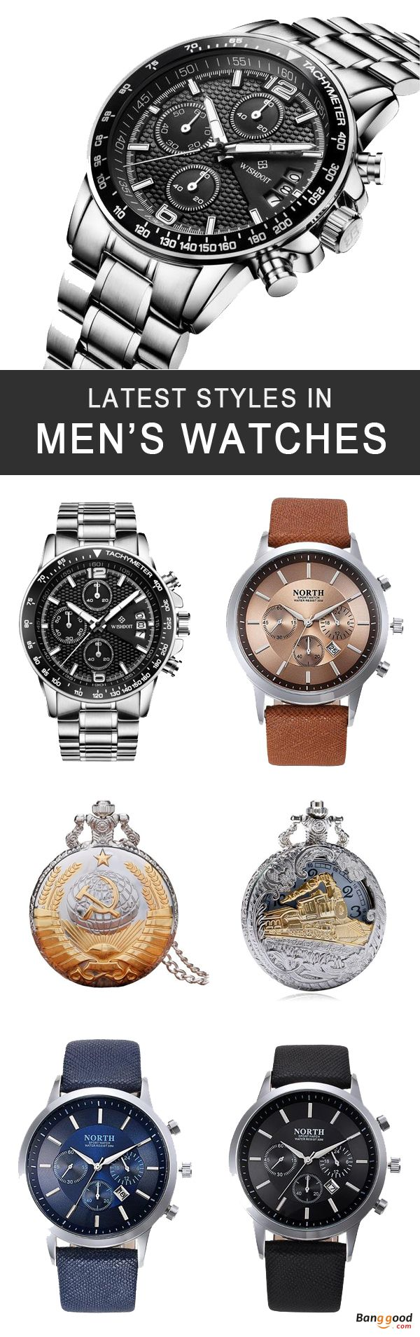 Wholesale Men's Watches, Quartz Watches, Creative Watches, Mechanical Watches, Dual Display Watches, Digital Watches, Pocket Watches, we offer best bang for your buck! come shop!