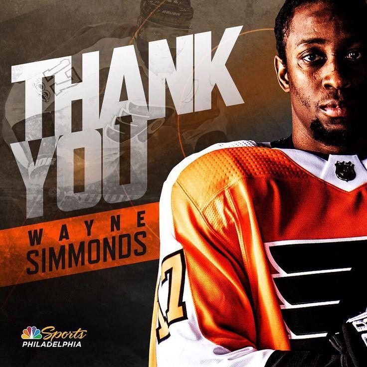 Thank you, Wayne 🖤🧡 Philadelphia sports, Flyers hockey
