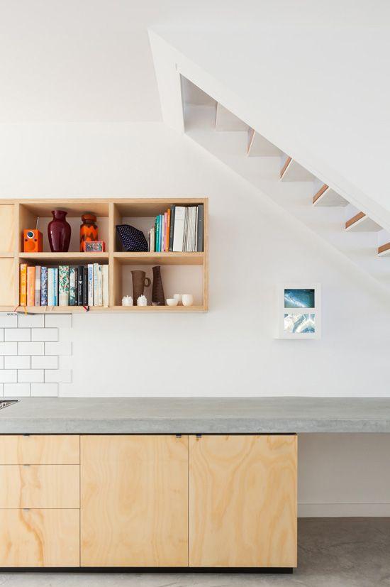 beton multiplex keuken