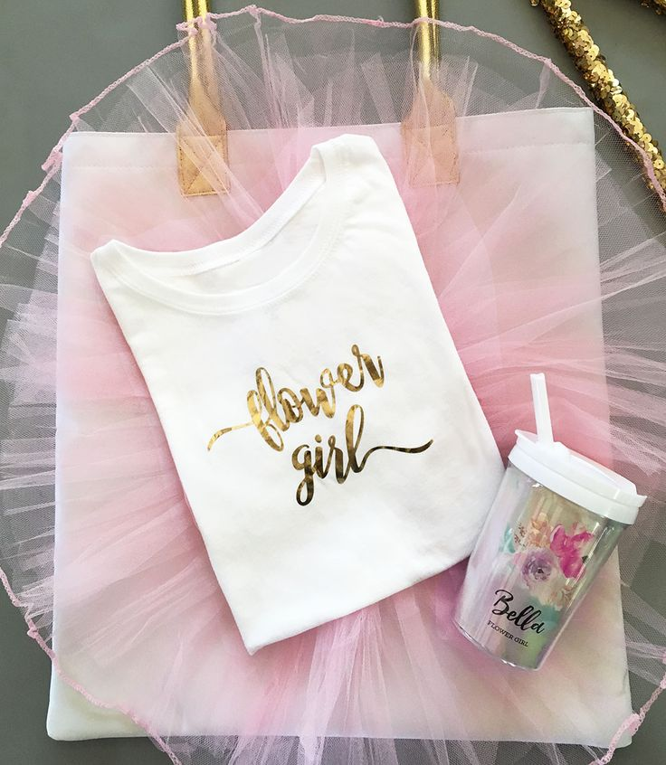 Check out the deal on Flower Girl Tshirt at Wedding Favorites | Unique Wedding Favors | Baby Shower Favors | Bridal Shower Favors