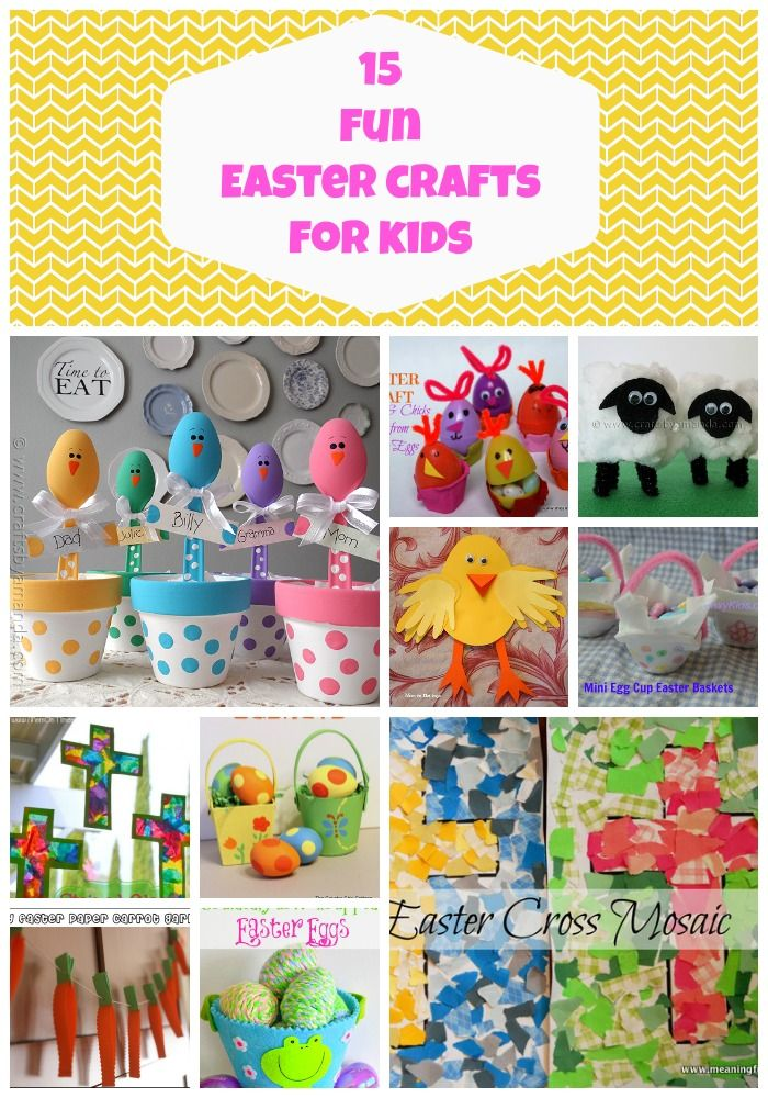 EasterCraftsKids MINE Easter Crafts for Kids   15 Fun + Creative Ideas