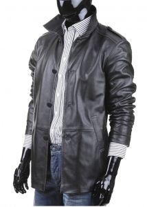 Płaszcz skórzany męski DORJAN BIL950