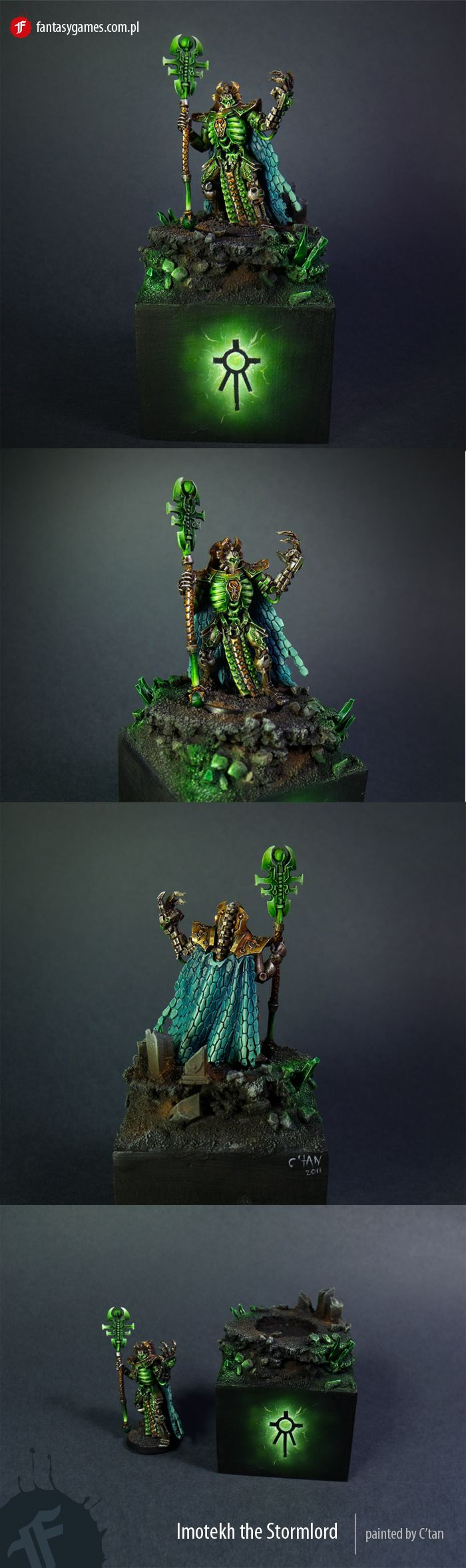 Ideas for a necron color scheme - The Painting Forum - 40K Online
