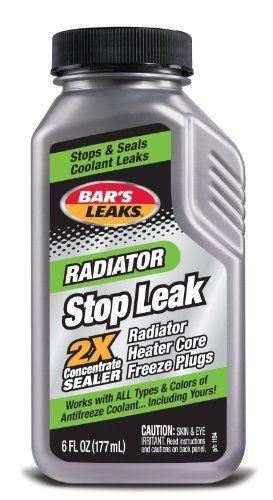Bar's Leaks 1194 Grey Radiator Stop Leak - 6 oz. Bar's Pr...…