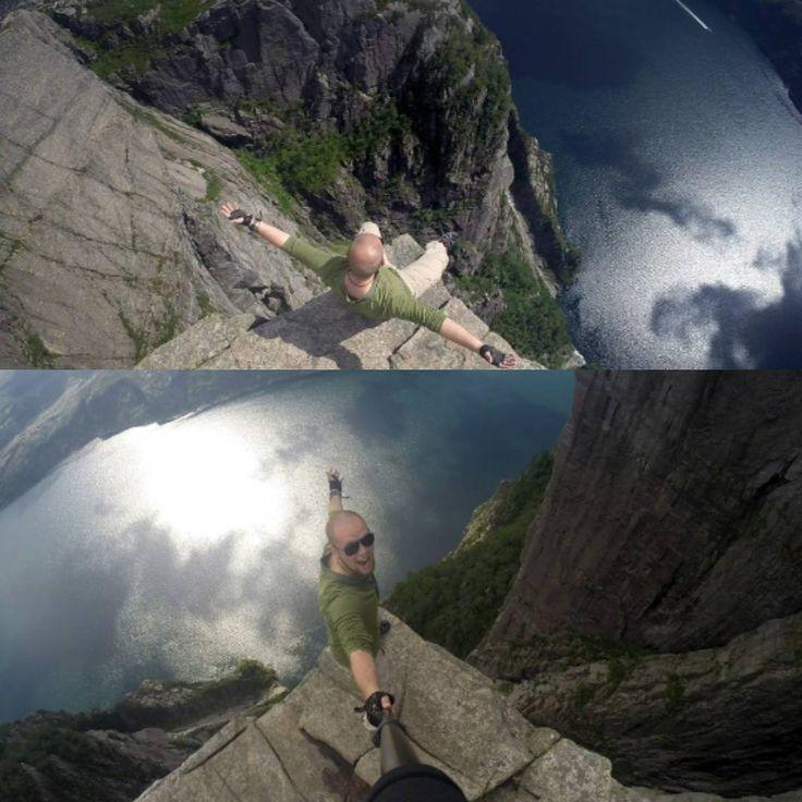 """#eurotour #eurotrip #евротур #норвегия #norway  #traveling #путешествие #highking #preikestolen #fjords #lysefjorden #pulpitrock"""