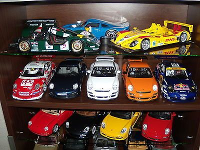 Porsche diecast collection by dragomirionut2011