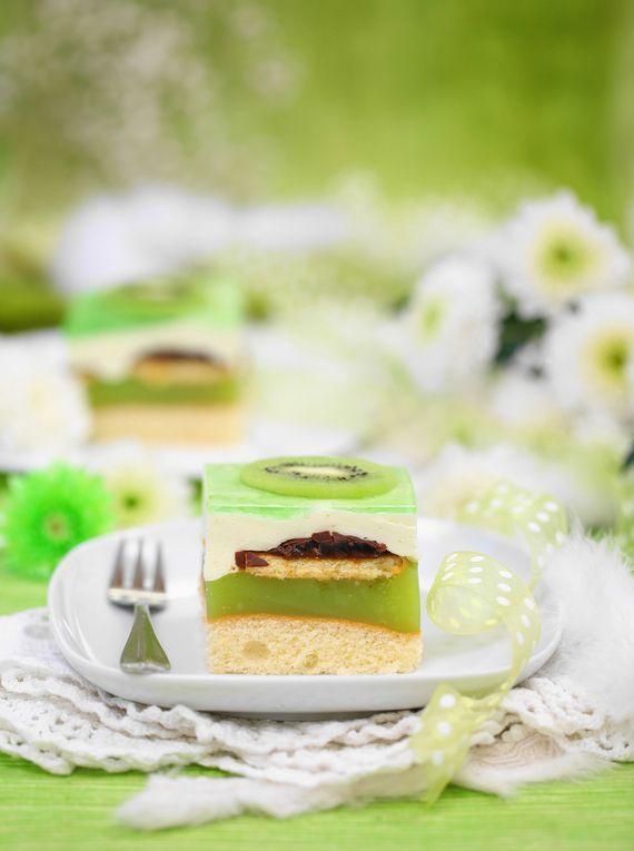 Ciasto Shrek #słodkości #smakołyk #deser #dziecięce #przepisy #energia #ciasto #galaretki #POLOmarket