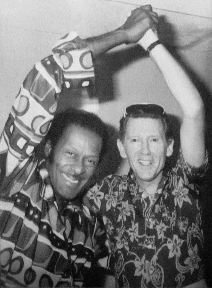 Chuck Berry and Jerry Lee Lewis