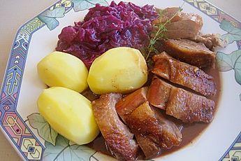 Gänsebrust (Rezept mit Bild) von jtappe   Chefkoch.de