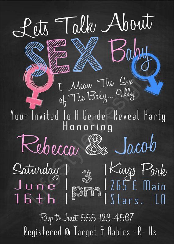 Best 25+ Gender reveal invitations ideas on Pinterest | Gender ...
