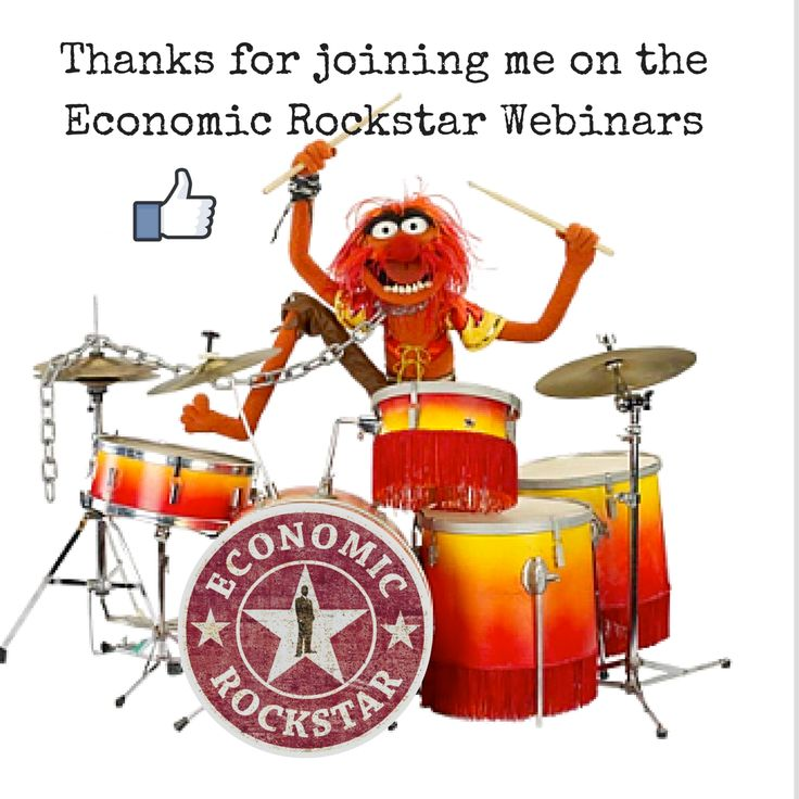 Animal wants you to LIKE the Economic Rockstar Facebook page