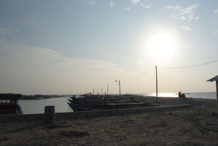 Salam pagi dari Matahari di Pulau Tidung