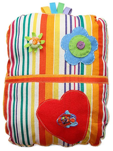 Cuscino Buddo Rainbow  #monster #ibuddidimatilde #pillow