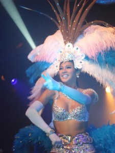 Ladyboys of Bangkok perform in Brighton