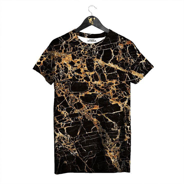 Gold Marble T-shirt by Golden Hyena #goldenhyena