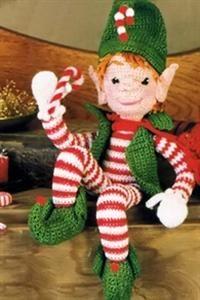 Crochet elf for christmas