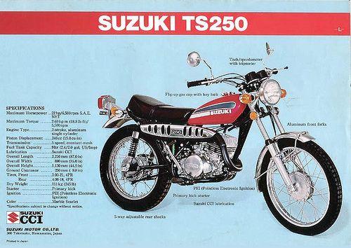28 Best Suzuki Ts 125 Images On Pinterest Biking Dirt