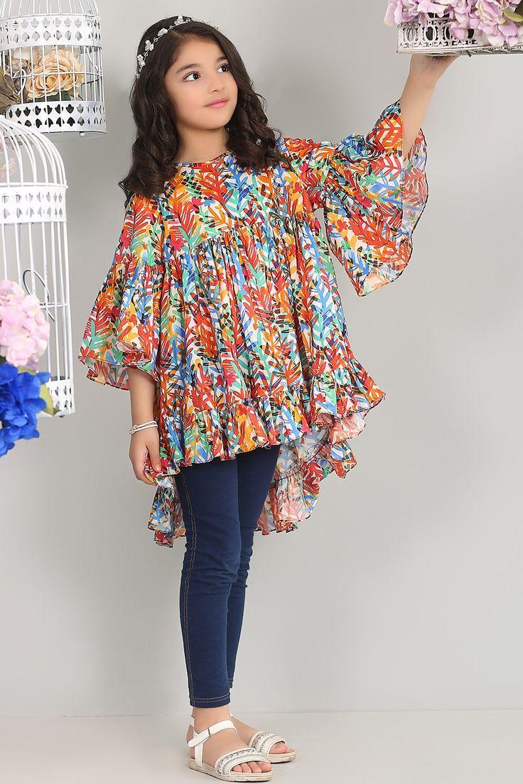 Pin by Yusra Tufail on Research   Pakistani kids dresses ...