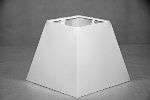 Sorpetaler Leuchtenschirm Lampenschirm Freestyle Eckig Pepp weiss SSM15.215