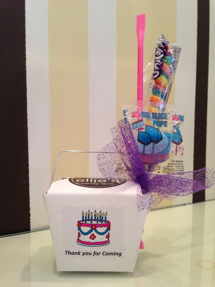These boxes can be made specially for events ranging from birthdays to bridal showers!