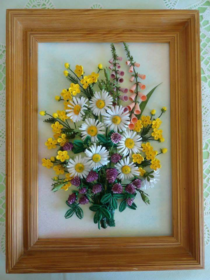 1379 best images about quilling art on pinterest for Big quilling designs
